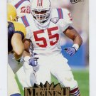 1995 Ultra Football #206 Willie McGinest - New England Patriots