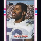 1989 Topps Football #393 Garry Cobb - Dallas Cowboys NM-M