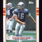 1989 Topps Football #390 Steve Pelluer - Dallas Cowboys