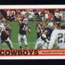 1989 Topps Football #382 The Dallas Cowboys Team
