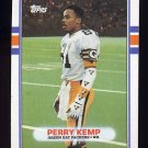 1989 Topps Football #378 Perry Kemp RC - Green Bay Packers
