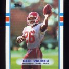 1989 Topps Football #357 Paul Palmer - Kansas City Chiefs