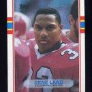 1989 Topps Football #343 Gene Lang - Atlanta Falcons