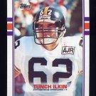 1989 Topps Football #317 Tunch Ilkin RC - Pittsburgh Steelers NM-M