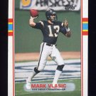 1989 Topps Football #311 Mark Vlasic RC - San Diego Chargers ExMt