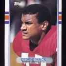 1989 Topps Football #285 Cedric Mack - Phoenix Cardinals