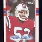 1989 Topps Football #200 Johnny Rembert RC - New England Patriots