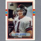 1989 Topps Football #172 Phil Simms - New York Giants