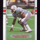 1989 Topps Football #105 Allen Pinkett RC - Houston Oilers NM-M