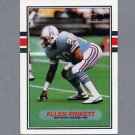 1989 Topps Football #105 Allen Pinkett RC - Houston Oilers Ex