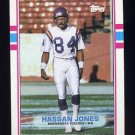 1989 Topps Football #078 Hassan Jones RC - Minnesota Vikings