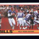 1989 Topps Football #040 The Buffalo Bills Team / Jim Kelly