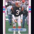 1989 Topps Football #039 Jim Breech - Cincinnati Bengals