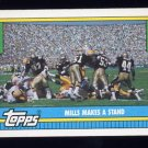 1990 Topps Football #525 The New Orleans Saints Team Leaders