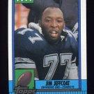 1990 Topps Football #491 Jim Jeffcoat - Dallas Cowboys