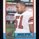 1990 Topps Football #480 Marcus Cotton - Atlanta Falcons