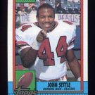 1990 Topps Football #473 John Settle - Atlanta Falcons