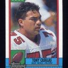 1990 Topps Football #470 Tony Casillas - Atlanta Falcons