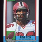 1990 Topps Football #468 Floyd Dixon - Atlanta Falcons