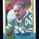 1990 Topps Football #461 Bobby Humphery - New York Jets