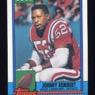 1990 Topps Football #430 Johnny Rembert - New England Patriots