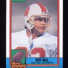 1990 Topps Football #404 Ron Hall - Tampa Bay Buccaneers