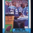 1990 Topps Football #362 Michael Cofer - Detroit Lions NM-M