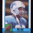 1990 Topps Football #356 Mel Gray - Detroit Lions