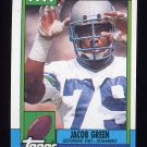 1990 Topps Football #344 Jacob Green - Seattle Seahawks