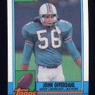 1990 Topps Football #321 John Offerdahl - Miami Dolphins