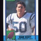 1990 Topps Football #314 Duane Bickett - Indianapolis Colts