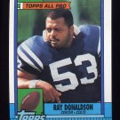 1990 Topps Football #305 Ray Donaldson - Indianapolis Colts