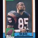 1990 Topps Football #274 Tim McGee - Cincinnati Bengals