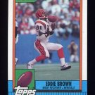 1990 Topps Football #272 Eddie Brown - Cincinnati Bengals NM-M