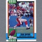 1990 Topps Football #272 Eddie Brown - Cincinnati Bengals Ex