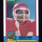 1990 Topps Football #260 Herman Heard - Kansas City Chiefs