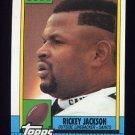 1990 Topps Football #242 Rickey Jackson - New Orleans Saints