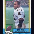 1990 Topps Football #238 Sam Mills - New Orleans Saints
