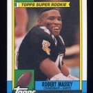 1990 Topps Football #230 Robert Massey - New Orleans Saints NM-M