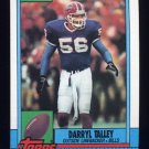 1990 Topps Football #195 Darryl Talley - Buffalo Bills