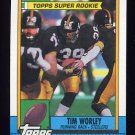 1990 Topps Football #175 Tim Worley - Pittsburgh Steelers