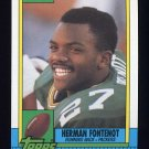 1990 Topps Football #149 Herman Fontenot - Green Bay Packers