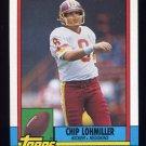 1990 Topps Football #137 Chip Lohmiller - Washington Redskins