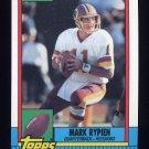 1990 Topps Football #133 Mark Rypien - Washington Redskins