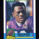 1990 Topps Football #113 Reggie Rutland RC - Minnesota Vikings