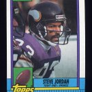 1990 Topps Football #112 Steve Jordan - Minnesota Vikings