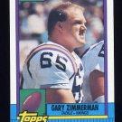 1990 Topps Football #107 Gary Zimmerman - Minnesota Vikings NM-M
