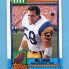 1990 Topps Football #082 Mel Owens - Los Angeles Rams