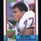 1990 Topps Football #058 Eric Dorsey RC - New York Giants