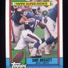 1990 Topps Football #049 Dave Meggett - New York Giants NM-M